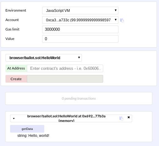 Пишем смарт-контракт Ethereum